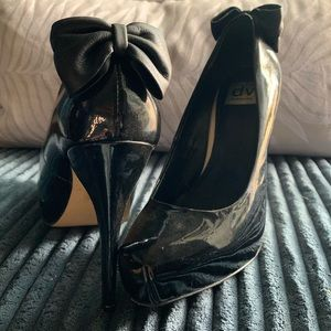 Dolce Vita Black Patent Leather sz 9